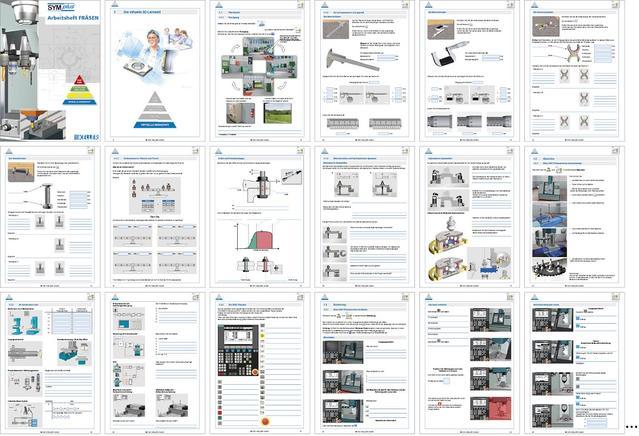 Virtuelle Werkstatt Arbeitsheftseiten